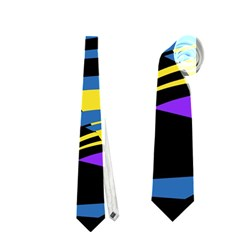 Decorative abstract design Neckties (One Side)