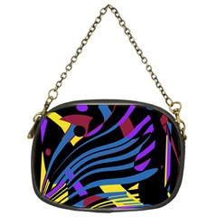 Decorative abstract design Chain Purses (One Side)