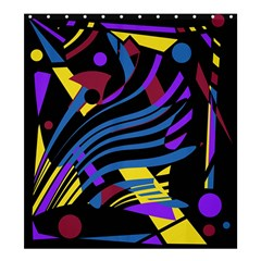 Decorative abstract design Shower Curtain 66  x 72  (Large)