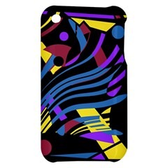 Decorative abstract design Apple iPhone 3G/3GS Hardshell Case