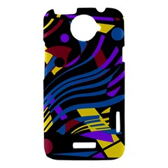 Decorative abstract design HTC One X Hardshell Case