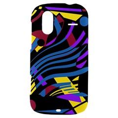 Decorative abstract design HTC Amaze 4G Hardshell Case