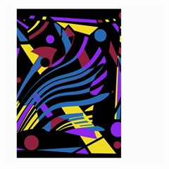 Decorative abstract design Large Garden Flag (Two Sides)
