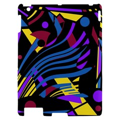 Decorative abstract design Apple iPad 2 Hardshell Case