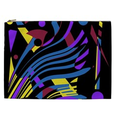 Decorative abstract design Cosmetic Bag (XXL)