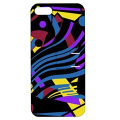 Decorative abstract design Apple iPhone 5 Hardshell Case with Stand