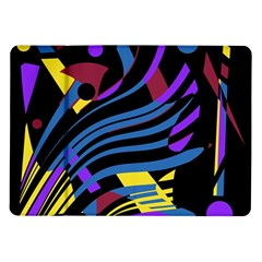 Decorative abstract design Samsung Galaxy Tab 10.1  P7500 Flip Case