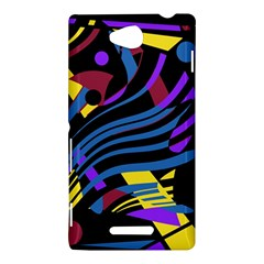 Decorative abstract design Sony Xperia C (S39H)