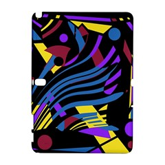 Decorative abstract design Samsung Galaxy Note 10.1 (P600) Hardshell Case