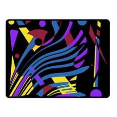 Decorative abstract design Double Sided Fleece Blanket (Small)