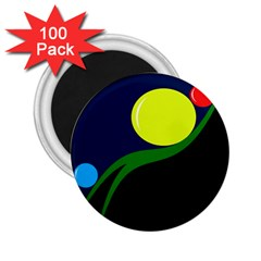Falling boalls 2.25  Magnets (100 pack)