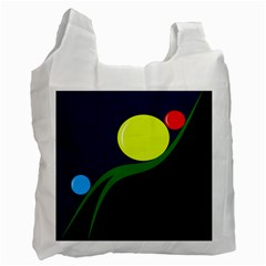 Falling boalls Recycle Bag (One Side)