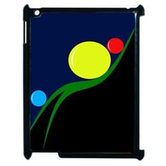 Falling boalls Apple iPad 2 Case (Black)