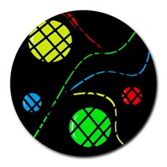 Colorful design Round Mousepads