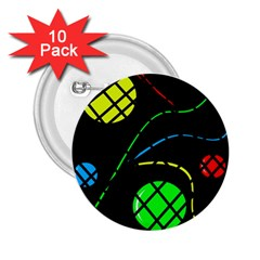 Colorful design 2.25  Buttons (10 pack)