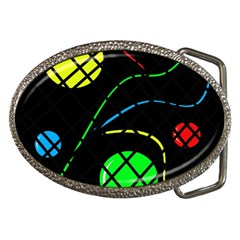 Colorful design Belt Buckles