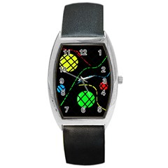 Colorful design Barrel Style Metal Watch