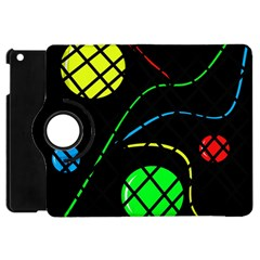 Colorful design Apple iPad Mini Flip 360 Case