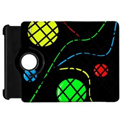 Colorful design Kindle Fire HD Flip 360 Case