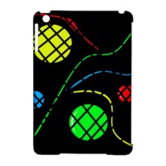 Colorful design Apple iPad Mini Hardshell Case (Compatible with Smart Cover)
