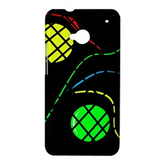 Colorful design HTC One M7 Hardshell Case