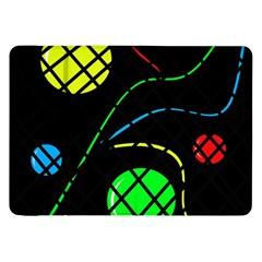 Colorful design Samsung Galaxy Tab 8.9  P7300 Flip Case