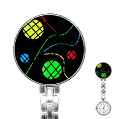 Colorful design Stainless Steel Nurses Watch