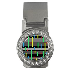 Colorful pattern Money Clips (CZ)
