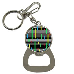 Colorful pattern Bottle Opener Key Chains