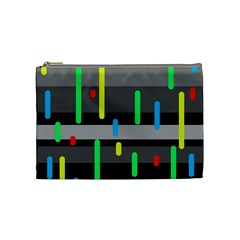 Colorful pattern Cosmetic Bag (Medium)