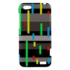 Colorful pattern HTC One V Hardshell Case