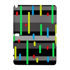 Colorful pattern Samsung Galaxy Note 10.1 (P600) Hardshell Case