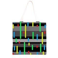 Colorful pattern Grocery Light Tote Bag