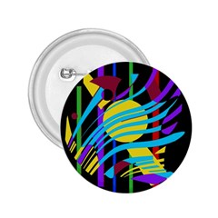 Colorful abstract art 2.25  Buttons