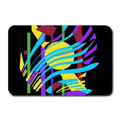 Colorful abstract art Plate Mats