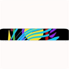 Colorful abstract art Small Bar Mats