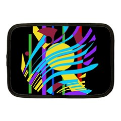 Colorful abstract art Netbook Case (Medium)