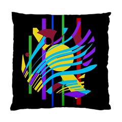 Colorful abstract art Standard Cushion Case (One Side)
