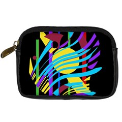 Colorful abstract art Digital Camera Cases