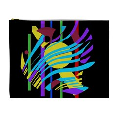 Colorful abstract art Cosmetic Bag (XL)