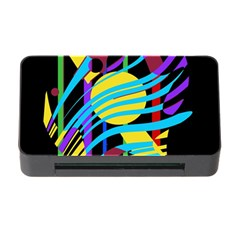 Colorful abstract art Memory Card Reader with CF