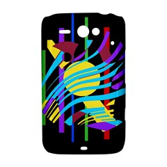 Colorful abstract art HTC ChaCha / HTC Status Hardshell Case