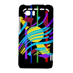 Colorful abstract art HTC Vivid / Raider 4G Hardshell Case