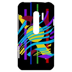 Colorful abstract art HTC Evo 3D Hardshell Case