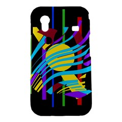Colorful abstract art Samsung Galaxy Ace S5830 Hardshell Case