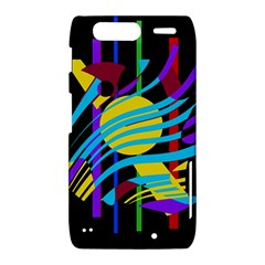 Colorful abstract art Motorola Droid Razr XT912
