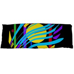 Colorful abstract art Body Pillow Case Dakimakura (Two Sides)