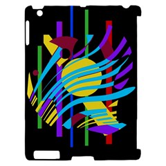 Colorful abstract art Apple iPad 2 Hardshell Case (Compatible with Smart Cover)
