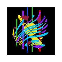 Colorful abstract art Acrylic Tangram Puzzle (6  x 6 )