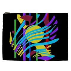 Colorful abstract art Cosmetic Bag (XXL)